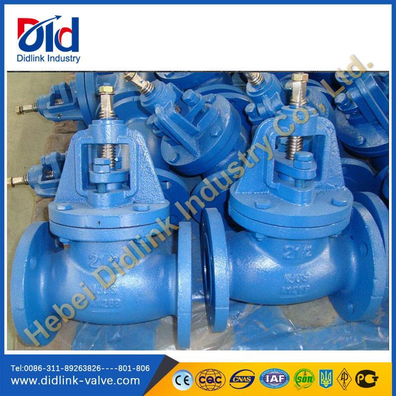 CAST IRON GLOBE VALVES--Hebei Didlink Industry Co., Ltd.-