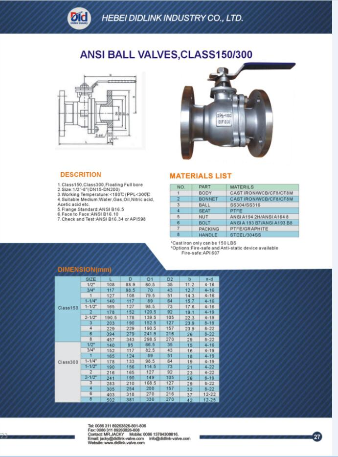 4 Inch Flanged Ball Valve Ball Valve Dimensions Pneumatic